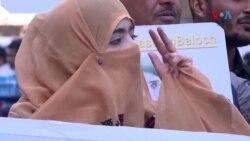 لاپتا افراد کے لواحقین کا کراچی میں احتجاج