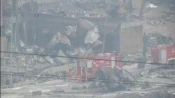 天津爆炸死亡人數上升到 104 人