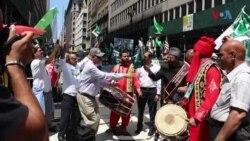 نیویارک میں پاکستان ڈے پریڈ