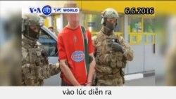 Ukraine bắt giữ kẻ tình nghi khủng bố trong mùa Euro (VOA60)
