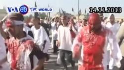 Người Hồi giáo Shia tự đánh mình bằng xích