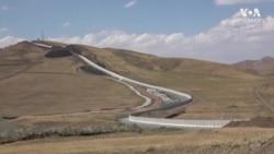 İran-Türkiye Sınırına Göçmenlere Karşı Duvar