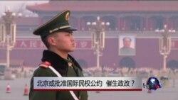 时事大家谈:北京或批准国际民权公约 催生政改?