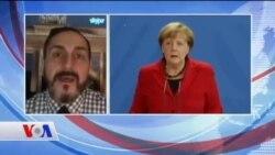 Merkel'den Trump'a: 'Demokratik Değerlere Bağlı Kalınmalı'