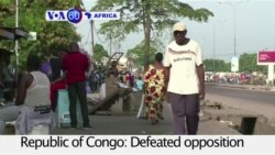 VOA60 Africa - Republic of Congo: Opposition call a general strike to challenge the re-election of President Nguesso