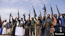 Grûpek ji Huîyên Yemenê