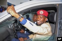 Mgombea urais wa upinzani Bobi Wine