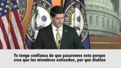 Ryan optimista de que se llegue a un acuerdo sobre presupuesto