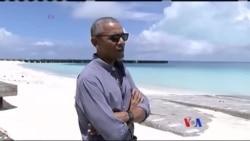 奧巴馬造訪中途島 鞏固環境保護政治遺
