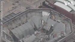 Nổ sập sân vận động ở Milwaukee