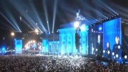 紀念柏林牆倒塌25週年放飛數千氣球