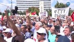 'Mezarda mı Emekli Olacağız?' Protestosu
