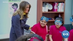 While Trump Tweets, FLOTUS Campaigns Against Cyber-Bullying