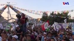 HDP'den Aylar Sonra Onbinlerin Katılımıyla Miting