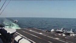 美国航母驰骋黄海 对朝鲜威胁不屑一顾