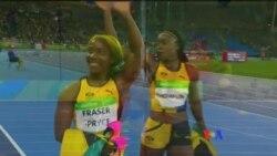 美國飛魚贏得里約奧運第五枚金牌