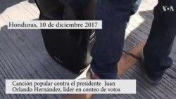 Honduras: Canción contra gobierno de Juan Orlando Hernández