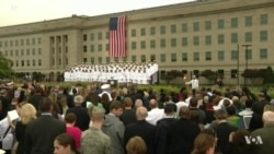 9/11 Attacks Remembered at Pentagon, New York, Pennsylvania