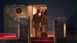 Tổng thống Obama kết thúc kỳ nghỉ và chuẩn bị công du châu Á
