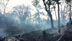 Cambodia-Burning USAGM