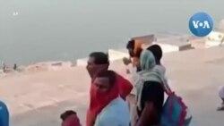 Ấn Độ: Phát hiện nhiều thi thể trôi nổi trên sông Hằng