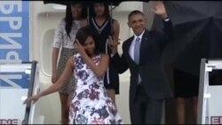 Прибытие Барака Обамы на Кубу