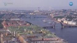 Rus Donanması'ndan Görkemli Tören