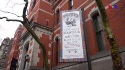 Nyu Yorkda əntiq kitab yarmarkası