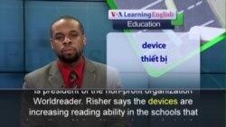 Phát âm chuẩn - Anh ngữ đặc biệt: E-readers in Africa (VOA)