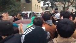 Mehman Hüseynov azadlıqda