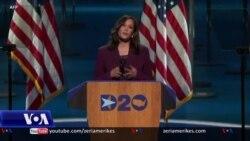 Kamala Harris pranon emërimin si kandidate për nënpresidente