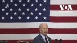 Президент США Джо Байден відвідав завод компанії Ford у штаті Мічиган. Відео