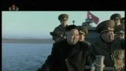 朝鮮舉行炮兵實彈射擊訓練
