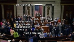 House Floor as the Health Care Bill is Approved