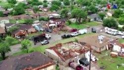 ABŞ-da ağır hava şəraiti - daşqınlar və tornadolar