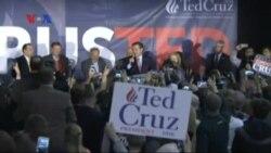 Clinton & Cruz Menangkan Kaukus Iowa, Babak Pertama Pilpres AS
