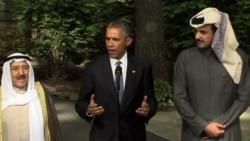 Obama Hosts Gulf Leaders at Camp David