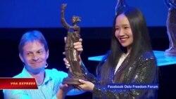 Mai Khôi đoạt Giải Nhân Quyền Quốc tế Havel 2018