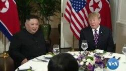 Perezida Trump na Kim Jong Un Basangiye ivy' Umugoroba