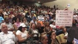 Venezuela: sector universitario defiende su autonomía