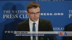 Балтійські міністри – про перспективи розширення НАТО. Відео