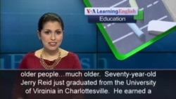 Seventy-year-old College Student Graduates