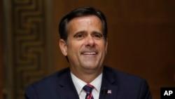 John Ratcliffe saat menghadiri sidang Komite Intelijen Senat AS, 5 Mei 2020. Ratcliffe terpilih menjadi direktur intelijen nasional AS.