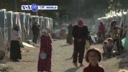 VOA60 Duniya: Ana Cigaba da Fada a Iraqi Inda Kurdawa Kekare Garin Kobani, Iraqi, Oktoba 21, 2014