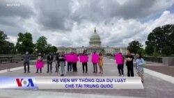 Hạ viện Mỹ thông qua dự luật chế tài Trung Quốc