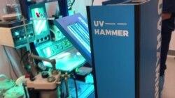 Penggunaan Sinar Ultraviolet untuk Sterilkan Pesawat atau Ruangan