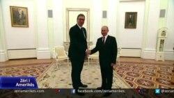 Vuçiç në Moskë para takimit në Shtëpinë e Bardhë