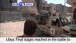 VOA60 Africa - Libya: Final stages reached in the battle for Sirte