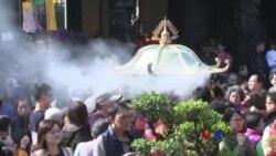 两岸民眾慶祝農曆新年