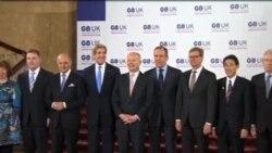 敘利亞、北韓問題成G8 會議重點